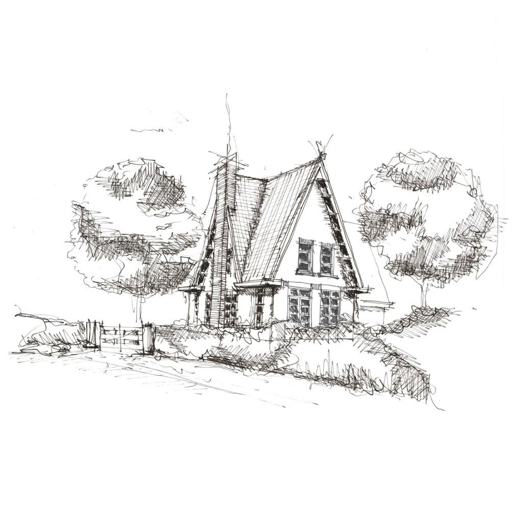 Schets villa